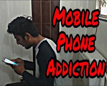 Mobile Phone Addiction Funny Video || krishna Bhosle || - mobile phone addiction funny video krishna bhosle