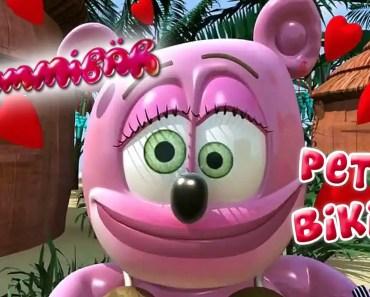 PETIT BIKINI Funny Bear FRENCH Gummibär The Gummy Bear Itsi Bitsi Bikini Francais - petit bikini funny bear french gummibar the gummy bear itsi bitsi bikini francais