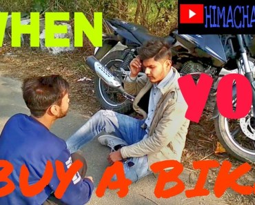 When you buy a bike    Funny Video    - when you buy a bike funny video