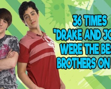 "36 Times ""Drake and Josh"" Were The Best Brothers On TV - 36 times drake and josh were the best brothers on tv"