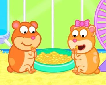 Fox Family - Hamster - fox family hamster