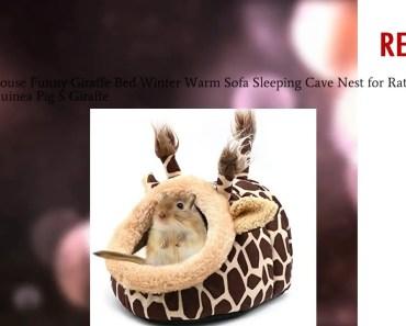 Hamster House Funny Giraffe Bed Winter Warm Sofa Sleeping Cave Nest for Rat Hedgehog Squi Coupon - hamster house funny giraffe bed winter warm sofa sleeping cave nest for rat hedgehog squi coupon
