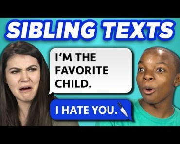 10 FUNNY BROTHER SISTER TEXTS w/ Teens & College Kids (REACT) - 10 funny brother sister texts w teens college kids react