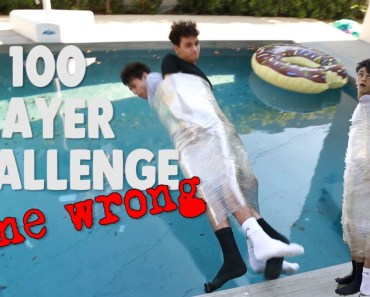 100 Layers of Plastic Wrap GONE WRONG! - 100 layers of plastic wrap gone wrong