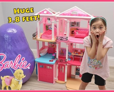 Biggest Barbie Egg Surprise Toys Opening & Pretend Play with Toy Dolls Surprises - biggest barbie egg surprise toys opening pretend play with toy dolls surprises