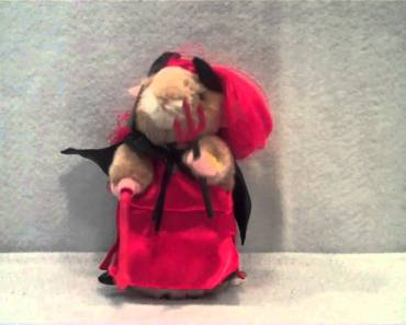Hamster in Red Dress Dancing Hamster Plush toy By Gemmy - hamster in red dress dancing hamster plush toy by gemmy