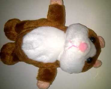 18cm Funny Talking Walking Hamster Mouse. BuyInCoins - 18cm funny talking walking hamster mouse buyincoins