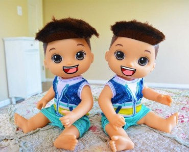Baby Alive Twins Trick Their Mom! -Toy Heroes - baby alive twins trick their mom toy heroes