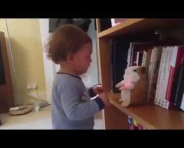 Baby vs talking hamster - baby vs talking hamster