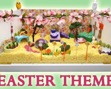 EASTER / SPRING Hamster Cage Theme! - easter spring hamster cage theme
