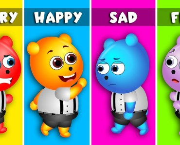 Feeling and Emotions song by Mega Gummy Bears | +More Nursery Rhymes and Songs | Gummy Bear Funny - feeling and emotions song by mega gummy bears more nursery rhymes and songs gummy bear funny