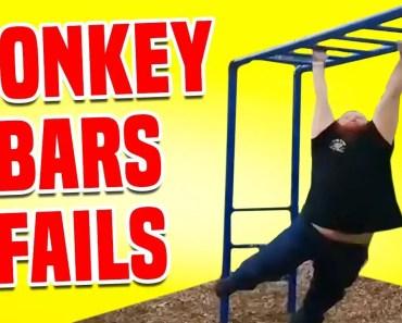 Monkey Bars Fails | Funny Fails Compilation - monkey bars fails funny fails compilation