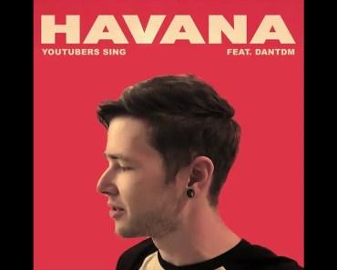 DanTDM Sings Havana - dantdm sings havana