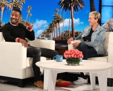 Ellen Attempts to Get Michael B. Jordan to Say the Secret Word - ellen attempts to get michael b jordan to say the secret word