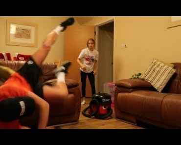 I PUT HER HAMSTER IN THE HOOVER PRANK!!!! - i put her hamster in the hoover prank
