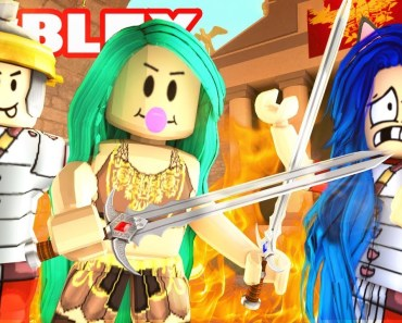 WE HAVE TO FIGHT!? GLADIATOR TRAINING IN ROBLOX! - we have to fight gladiator training in