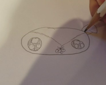 drawing a hamster - drawing a hamster