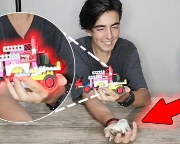 LEGO ile Hamster Arabası Yapmak! - lego ile hamster arabasi yapmak