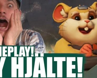 NY HAMSTER-HJÄLTE! GAMEPLAY! [Overwatch] - ny hamster hjalte gameplay overwatch