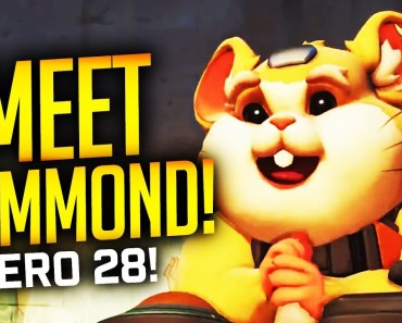 Overwatch - HAMMOND REVEALED! HAMSTER HERO!!!! - overwatch hammond revealed hamster hero