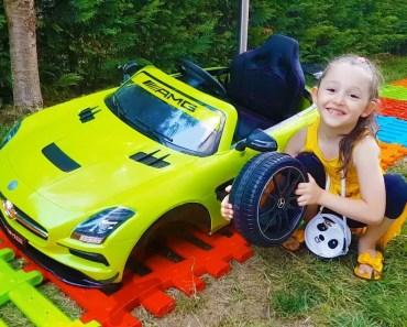 Öykü Arabasıyla Yolda Kaldı - pretend Play toy car mechanic - Funny Oyuncak Avı - oyku arabasiyla yolda kaldi pretend play toy car mechanic funny oyuncak avi