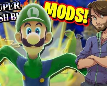 Super Smash Bros. MODS & GLITCHES! - SpaceHamster - super smash bros mods glitches spacehamster