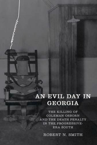 An Evil Day in Georgia book cover