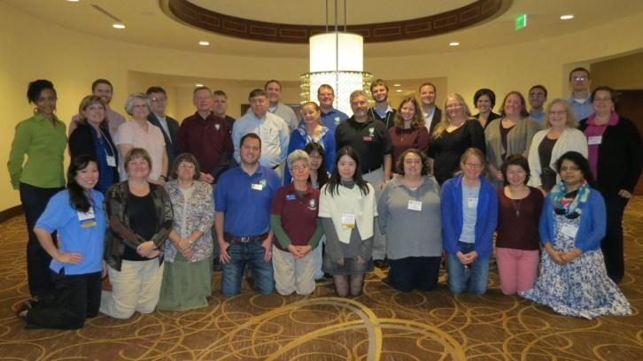 HAMTE members attending the 2015 Annual Business Meeting.