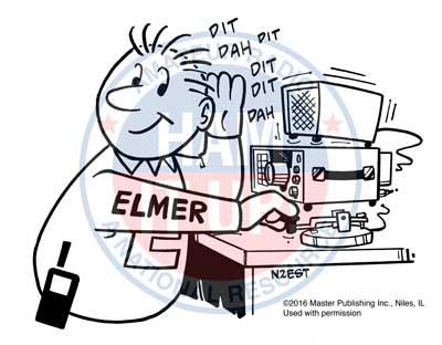 N2EST cartoon for Gordon West Extra class study guide