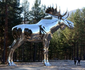 Storelgen, the world's biggest moose