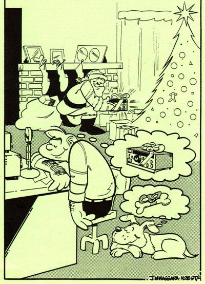 Atlanta Ham Christmas cover by N2EST Hamtoons