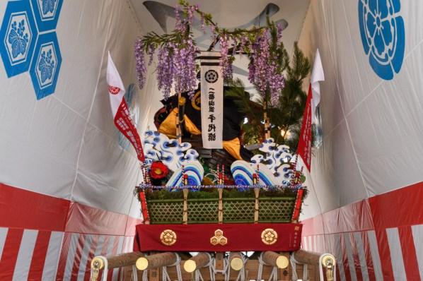 千代流・舁き山笠の写真