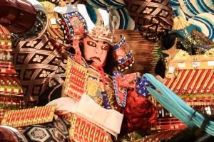 川端中央街・飾り山笠表の写真