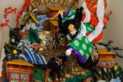 櫛田神社・飾り山笠表の写真