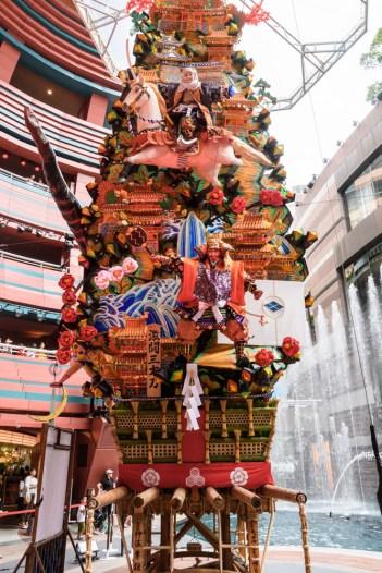 キャナルシティ・飾り山笠表の写真