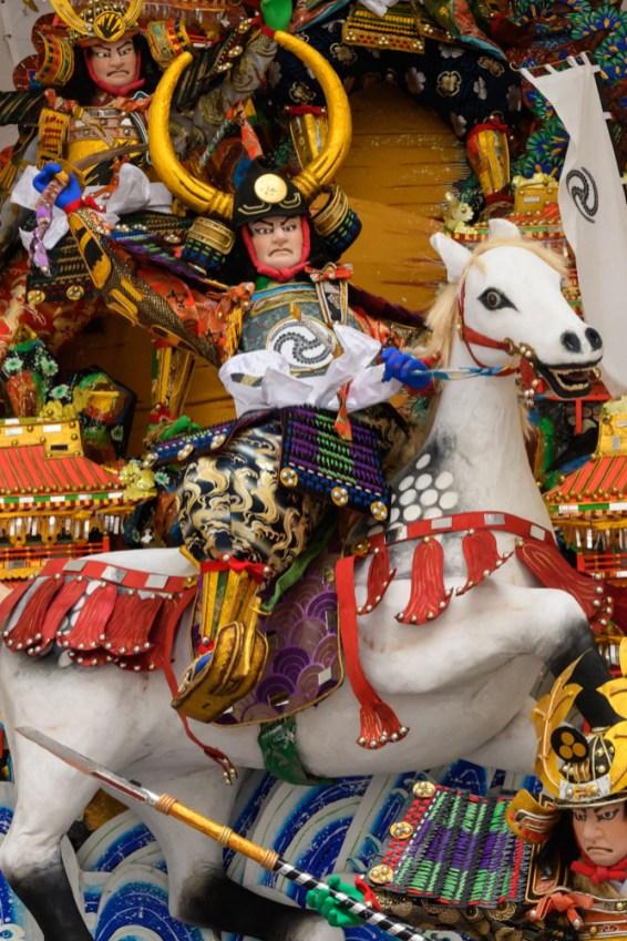 中洲流・飾り山笠表の写真