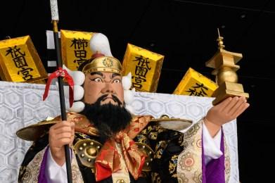 中洲流・舁き山笠の写真