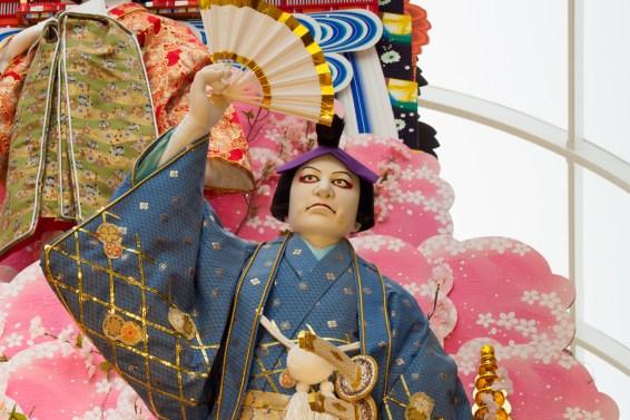 上川端通・飾り山笠の写真