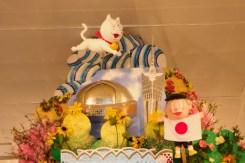 新天町・飾り山笠の写真