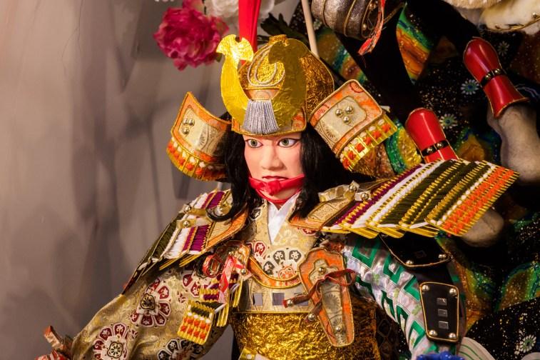 博多祇園山笠・新天町の飾り山笠の写真