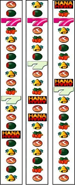 4号機 ハナハナ30 リール