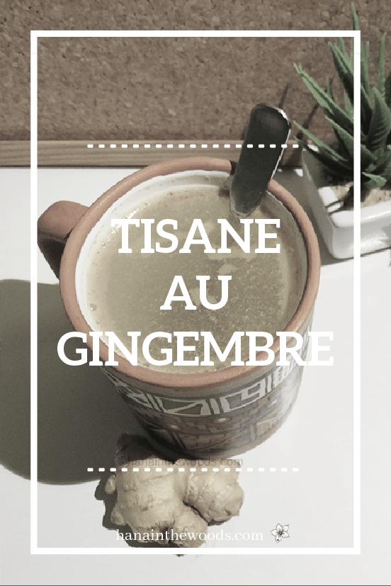 Tisane gingembre