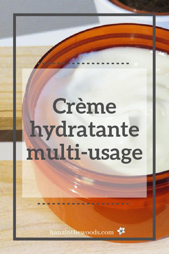Crème hydratante multi-usage