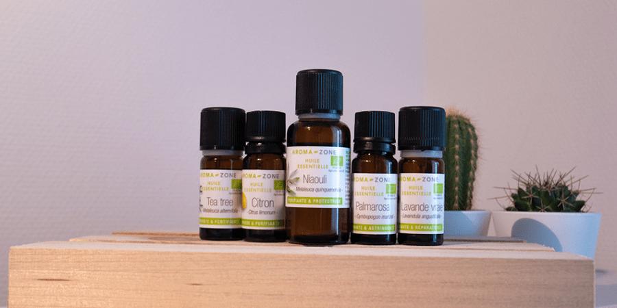 Huile essentielle pour peaux grasses et acnéiques