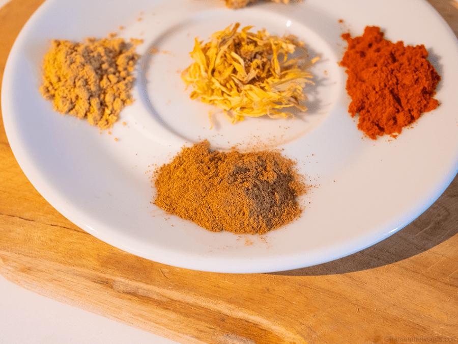 Épices pour soigner un rhume