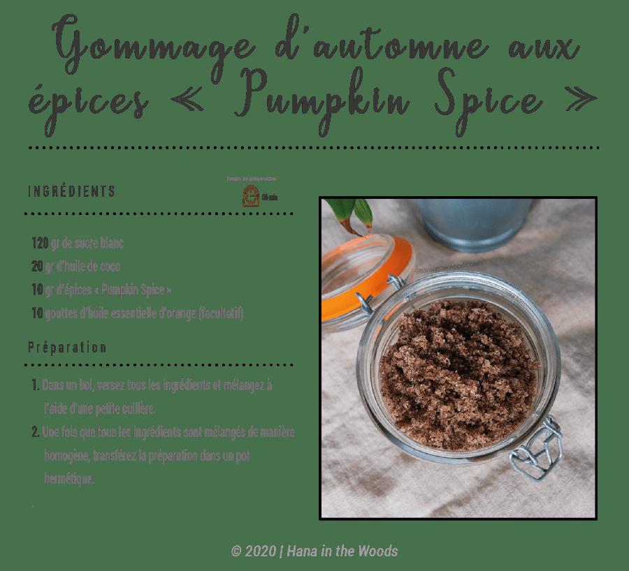 Gommage Pumpkin Spice