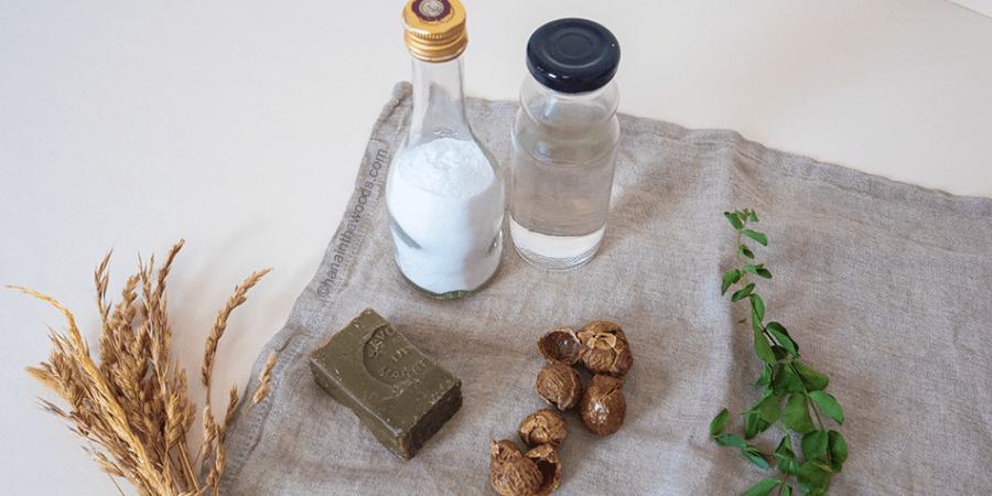 Mes 7 ingrédients indispensables pour un ménage 100% naturel