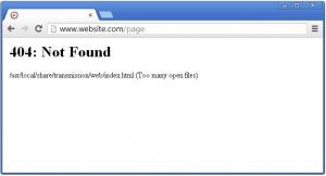 cara mengatasi sitemap error 404 3