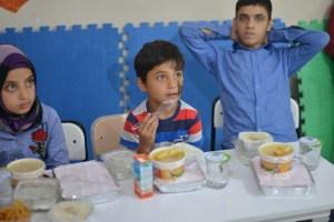 orphans' breakfast