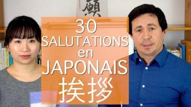 Saluer en japonais